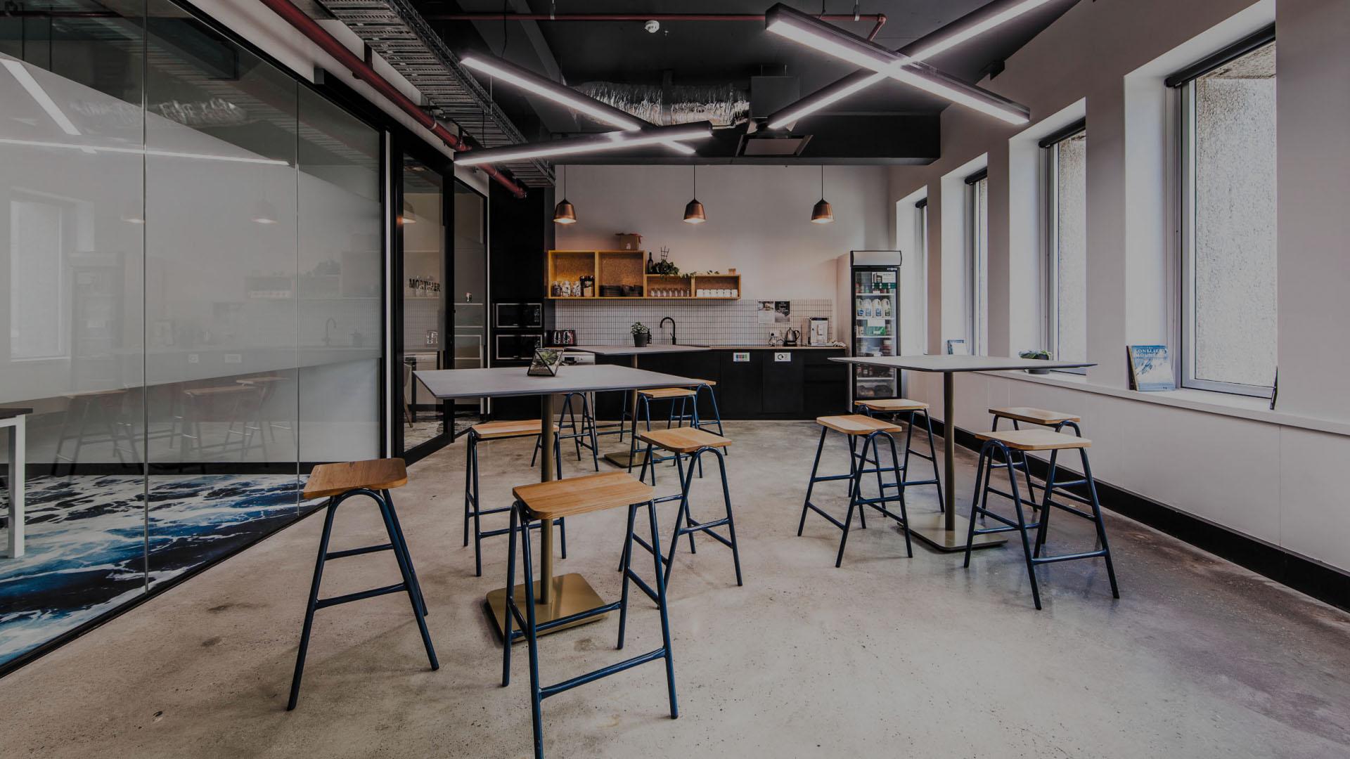 Interior Design Breakout Kitchen Flux